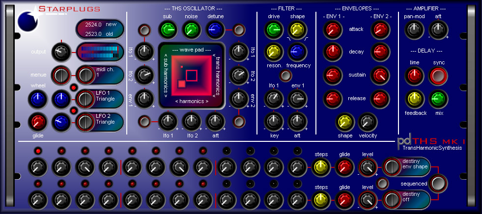 Starplugs THS Synthesizer MK 1 VSTi 1.00 ASSiGN, vsti starplugs vsti plugins, VSTi, Starplugs, RELEASE, ASSiGN