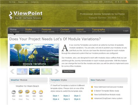 IT ViewPoint September 09 Joomla Template