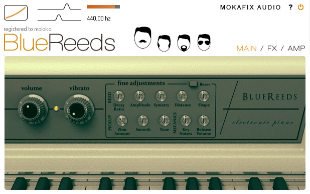 Mokafix Audio Bluereeds VSTi v1.0