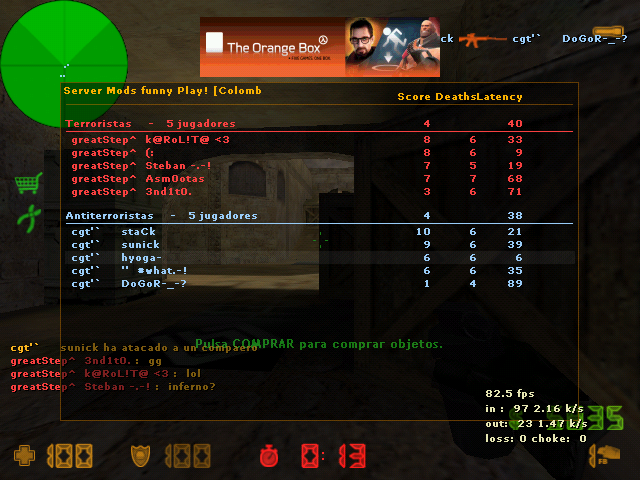 cgt'`     vs greatstep De_dust20009-161557e