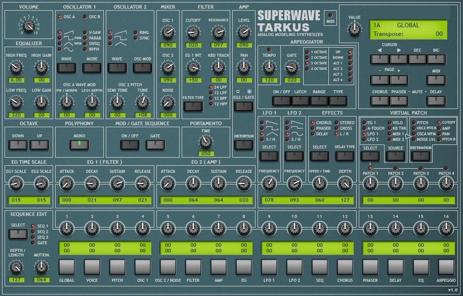 SuperWave Mega Bundle VSTi 30 11 2009, vsti superwave, VSTi, SuperWave, Mega Bundle, 2009