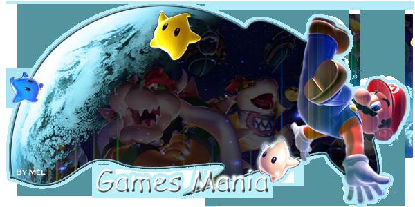 Games Mania Index du Forum